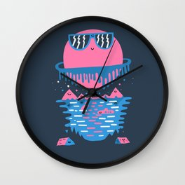 Happy Outdoors Wall Clock