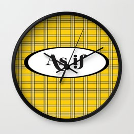 Clueless? As If! Wall Clock