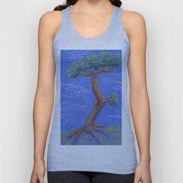 Another Blue Bonsai Unisex Tank Top