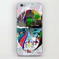 korea iPhone & iPod Skins featuring A trip to Korea  by doctusdesign