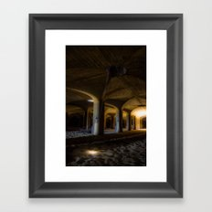 Time passing in the cells Framed Art Print