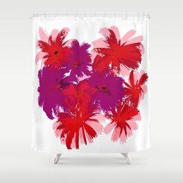 Wild Garden Flowers Shower Curtain