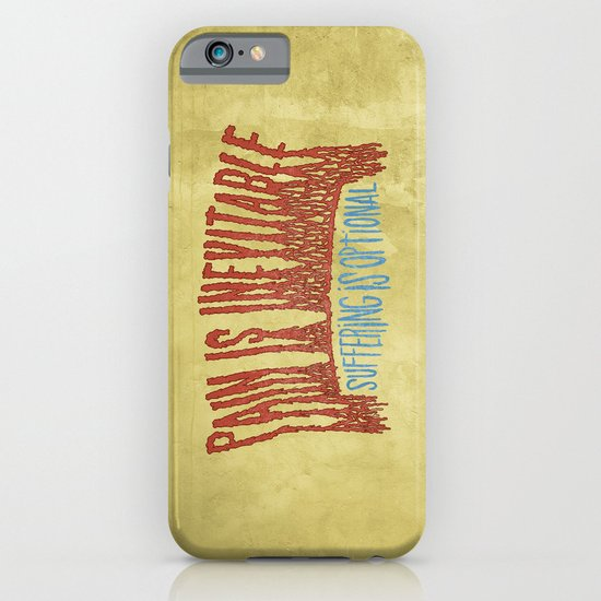 PAIN AND SUFFERING iPhone & iPod Case
