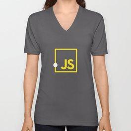 Javascript js Unisex V-Neck
