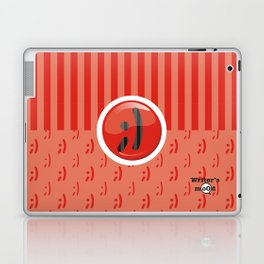 Red Writer's Mood Laptop & iPad Skin