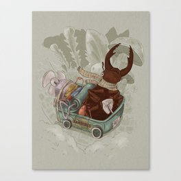 One man's trash - New Wheels Canvas Print