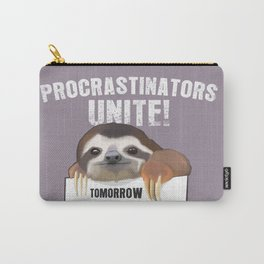 Procrastination sloth Carry-All Pouch