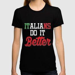Italy Football Team Flag Europe Catalan Rome Italians Awesome Gift T-shirt