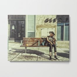 Waiting game Metal Print