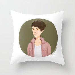Tegan and Sara: Tegan portrait #4 Throw Pillow
