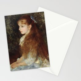 Portrait of Mademoiselle Irène Cahen d'Anvers (Little Irene) Stationery Cards