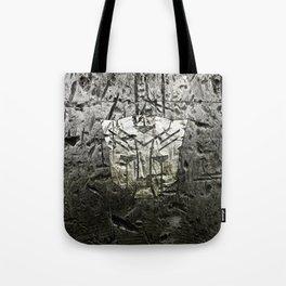 Autobot steel Tote Bag