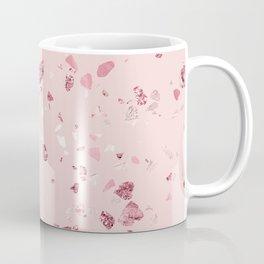Pink Quartz Glitter Terrazzo Coffee Mug