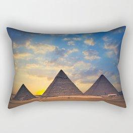 Cheops Pyramid Rectangular Pillow