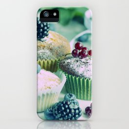 Fresh fruits Vintage kitchen Design iPhone Case