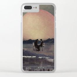 Just you and me ... Clear iPhone Case