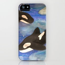 Sky Whales iPhone Case