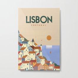Lisbon Portugal Metal Print