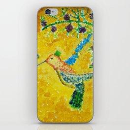 Humming Bird iPhone Skin