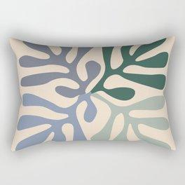 Matisse cutouts abstract drawing, Rectangular Pillow