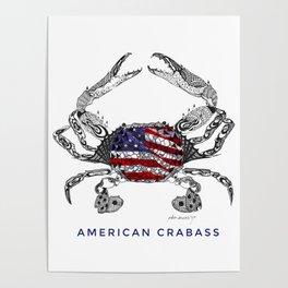 American Crabass Poster