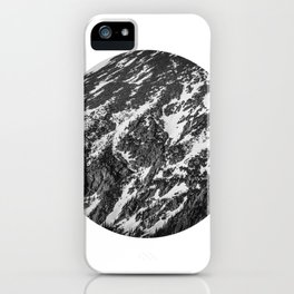 Moving Mountains   Rocky Mountains iPhone Case