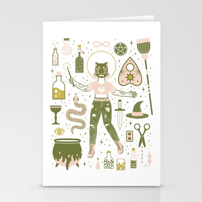 The Witch Stationery Cards