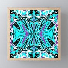 Fluid Abstract 05 Framed Mini Art Print