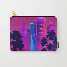 Synthwave Neon City #15: Vice city Carry-All Pouch