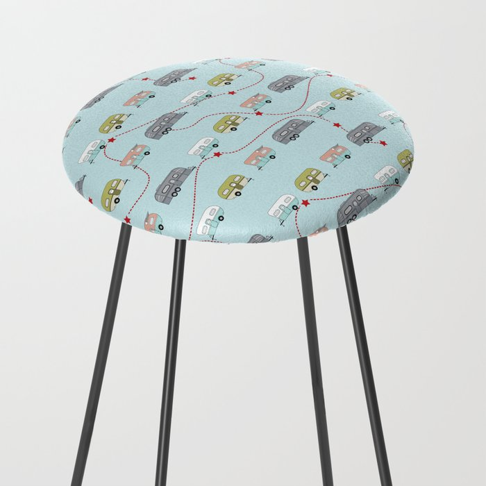 Get Your Kicks Counter Stool