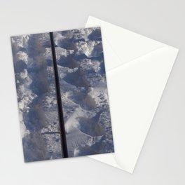 Snow #tracks Stationery Cards