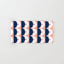 Abstraction_SUN_Mountains_Pattern_Minimalism_001 Hand & Bath Towel