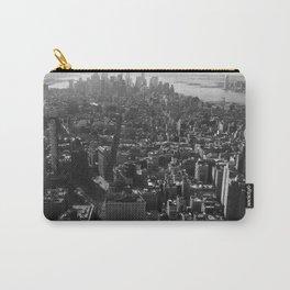 Manhattan Skyline - NY, fine art print, new york city, high quality photo Carry-All Pouch