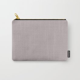 Annas Song Solid Soft Dusty Rose Matte Colour Blocks Carry-All Pouch