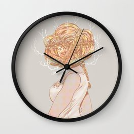 braids Wall Clock