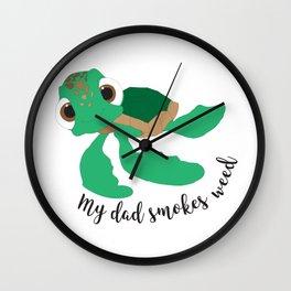 Cool Turtle Son Wall Clock