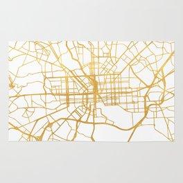 BALTIMORE MARYLAND CITY STREET MAP ART Rug