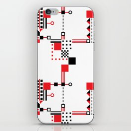 Tekno Abstrakt iPhone Skin