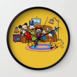 Psycouch2 Wall Clock