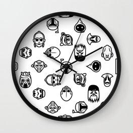 Classic StarWars Icons Wall Clock