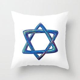 Shield of David. Star of David Throw Pillow