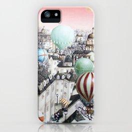 Balloon travel iPhone Case
