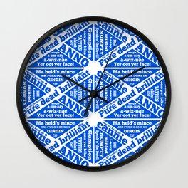 Scottish slang and phrases Wall Clock