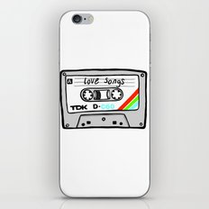 Cassette tape iPhone & iPod Skin