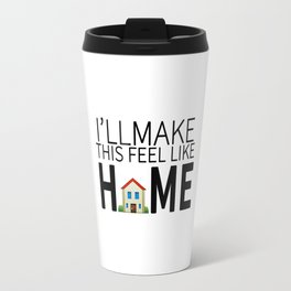 HOME LYRICS Travel Mug