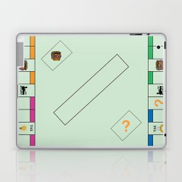 Monopoly Print Currency Game Laptop & iPad Skin