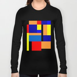 Mondrian #35 Long Sleeve T-shirt
