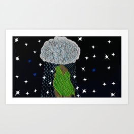 MotherEarth Art Print