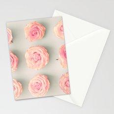 Nine roses, pink Stationery Cards