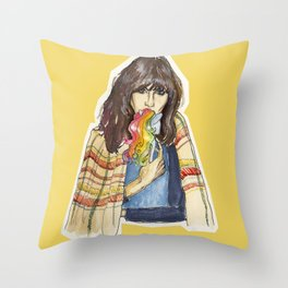 join the pony club  Throw Pillow